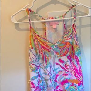 Lilly Pulitzer silk dress xs